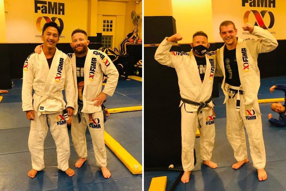 fama singapore martial arts bjj brazilian jiu jitsu stripes