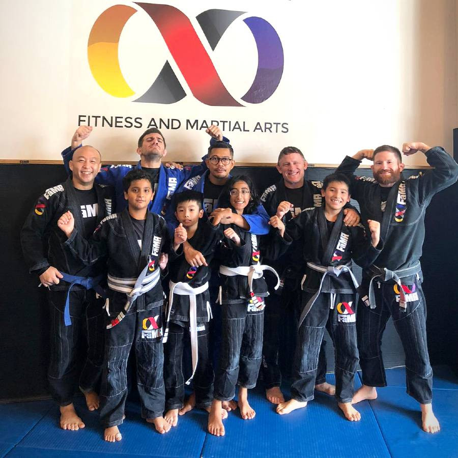 fama singapore brazilian jiu jitsu bjj assistant instructor ronny kids stripe
