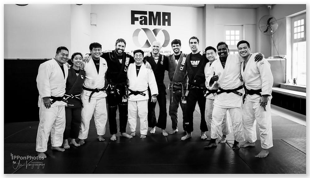 fama singapore bj, brazilian jiu jitsu judo jagsport seminar