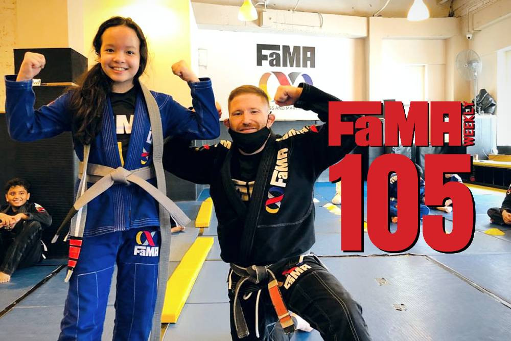 fama weekly 105 singapore kids martial arts professor robyn