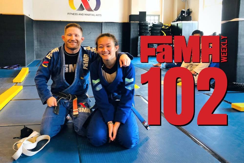 fama weekly 102 singapore girls womens brazilian jiu jitsu bjj belt promotion