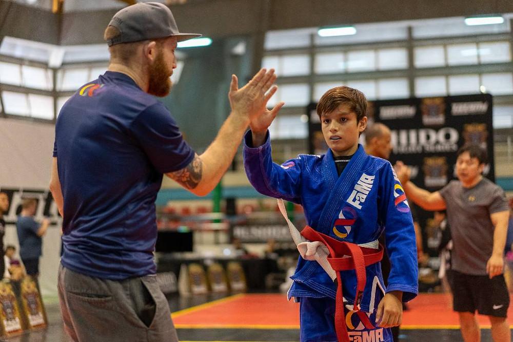 fama singapore kids martial arts braziliain jiu-jitsu bjj professor robyn goudy competition coaching