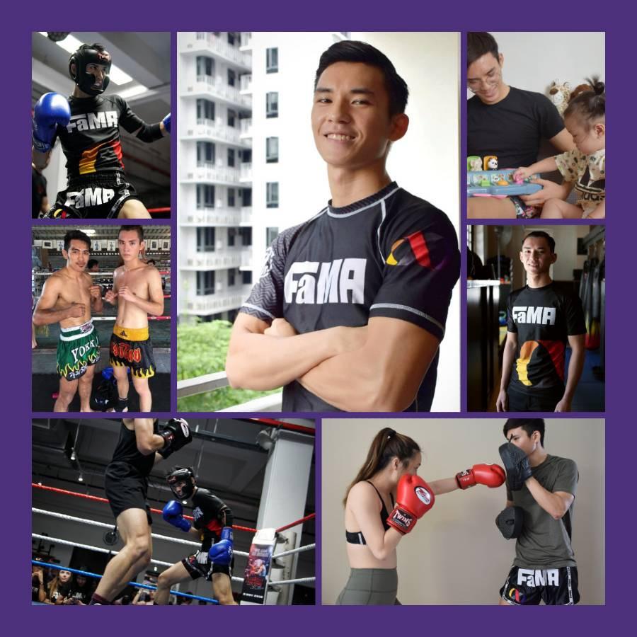 fama singapore kids muay thai assistant instructor jerome