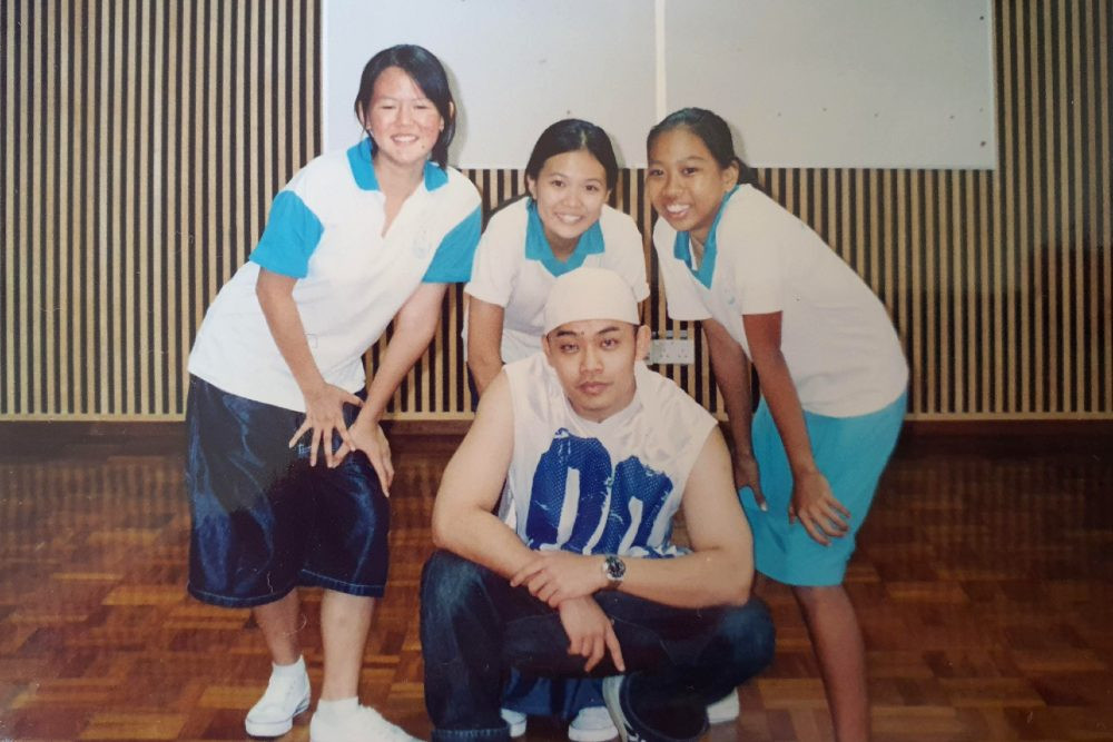 fama singapore assistant instructor sue ann hip hop dancing