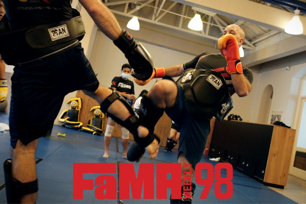 fama weekly 98 singapore kru yo muay thai sparring
