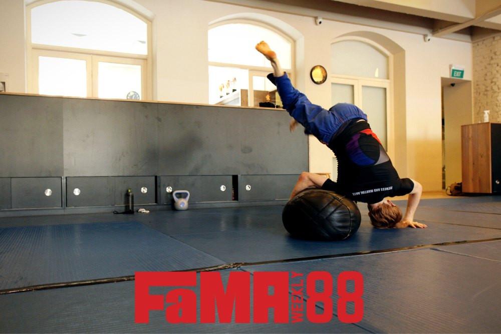 fama weekly brazilian jiu jitsu bjj bag drill