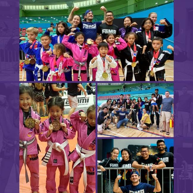 fama singapore team bjj competition