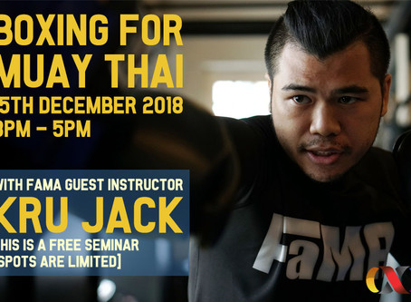 BOXING FOR MUAY THAI
