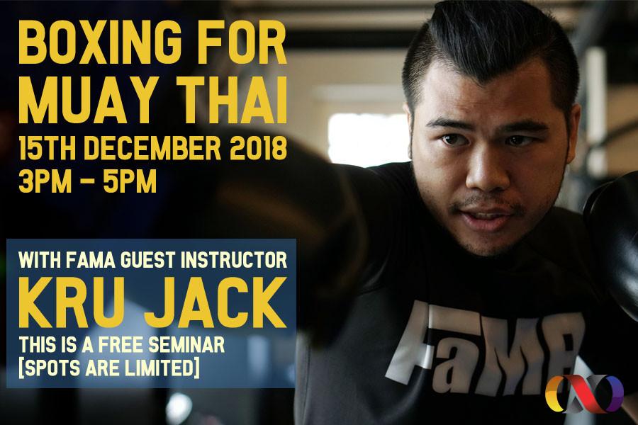 kru ping muay thai fama kickboxing boxing pads