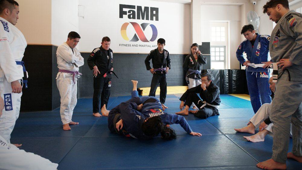 fama singapore brazilian jiu jitsu bjj class
