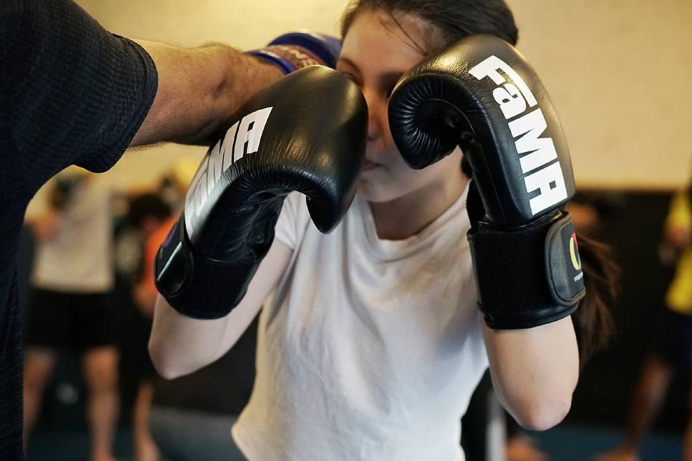 fama singapore muay thai kickboxing seminar kru jack boxing defence