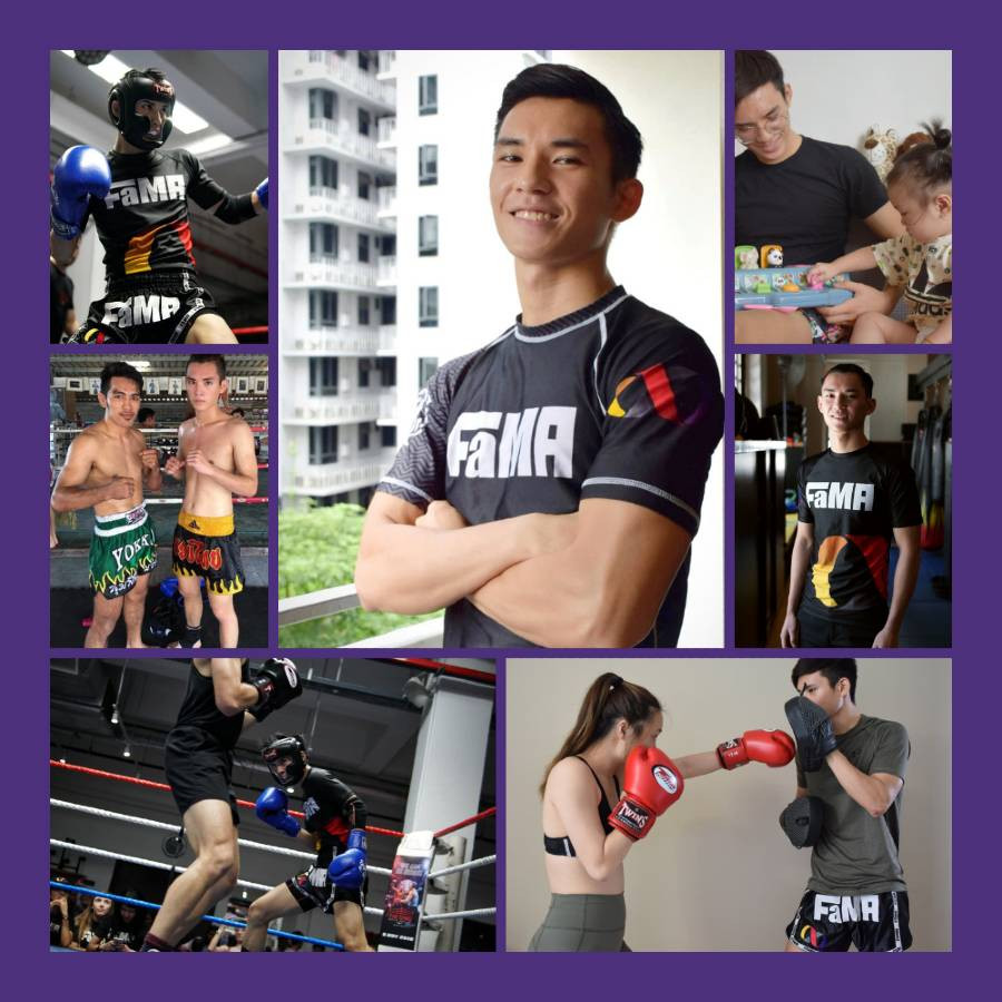 fama singapore kids muay thai assistant instructor jerome birthday