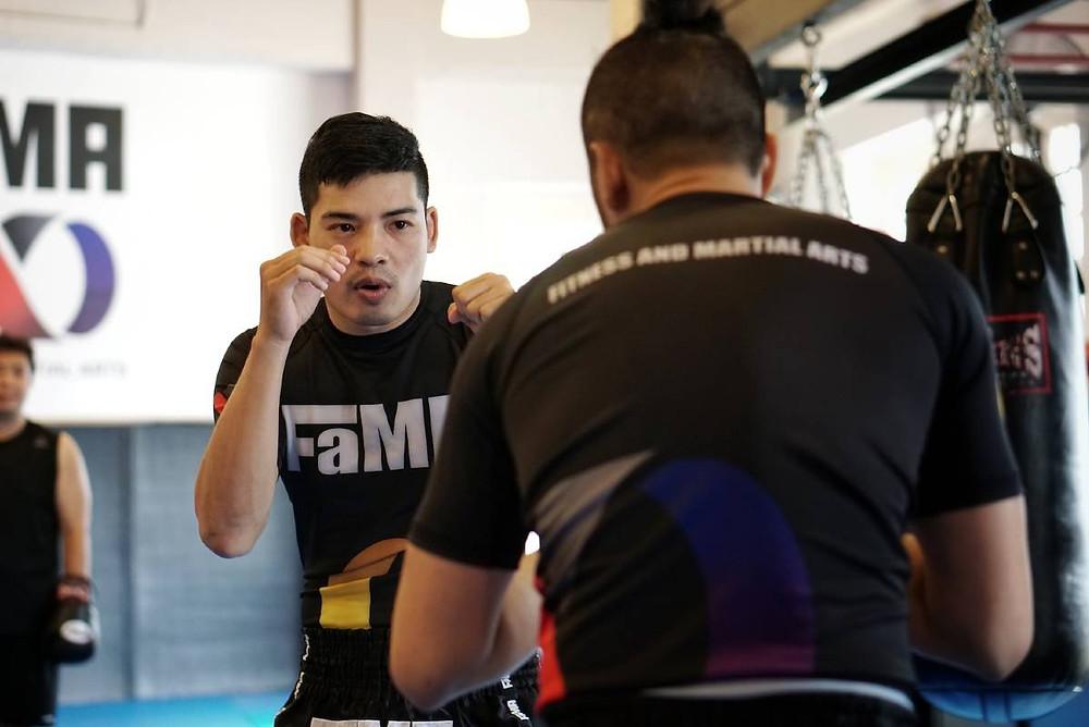 fama singapore muay thai kickboxing seminar kru jack boxing kru ping