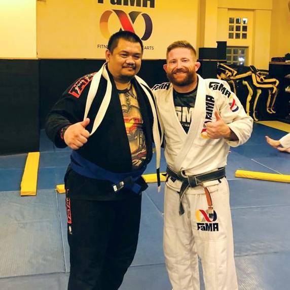 fama singapore bjj brazilian jiu jitsu belt blue belt promotion