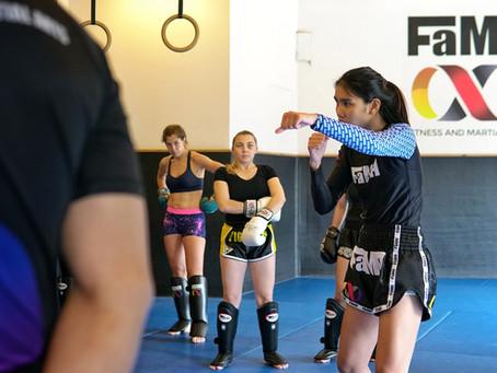 Ladies Muay Thai - Seminar Pictures
