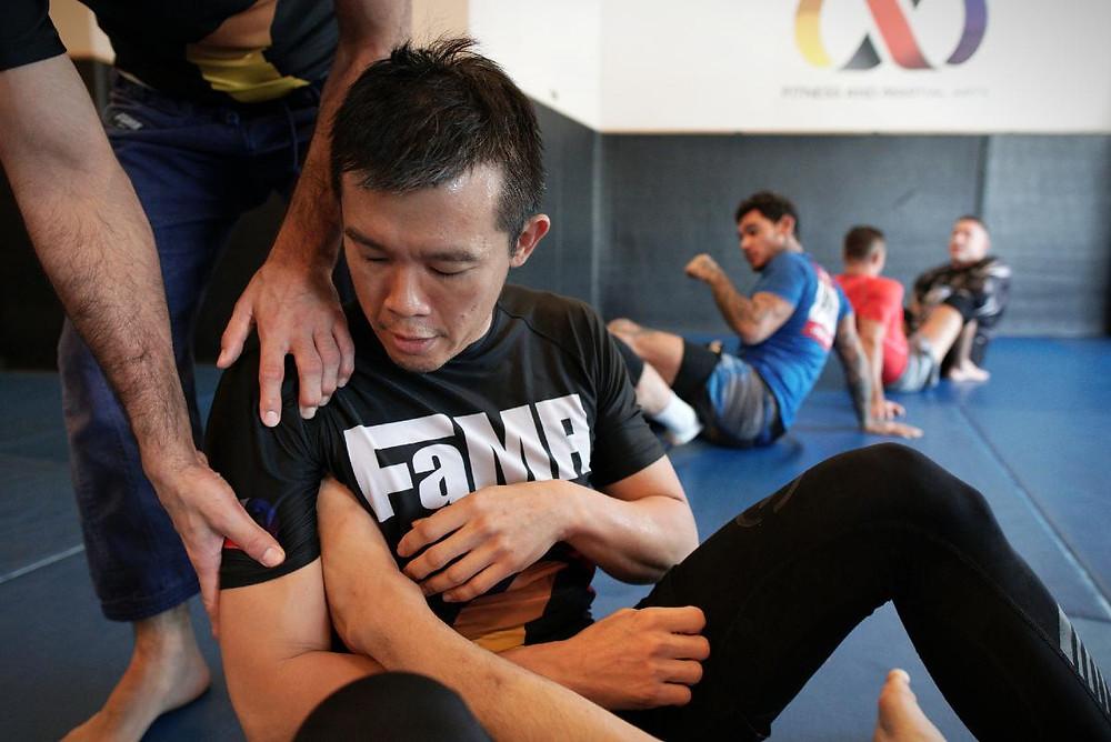 fama singapore brazilian jiu jitsu no gi leg lock