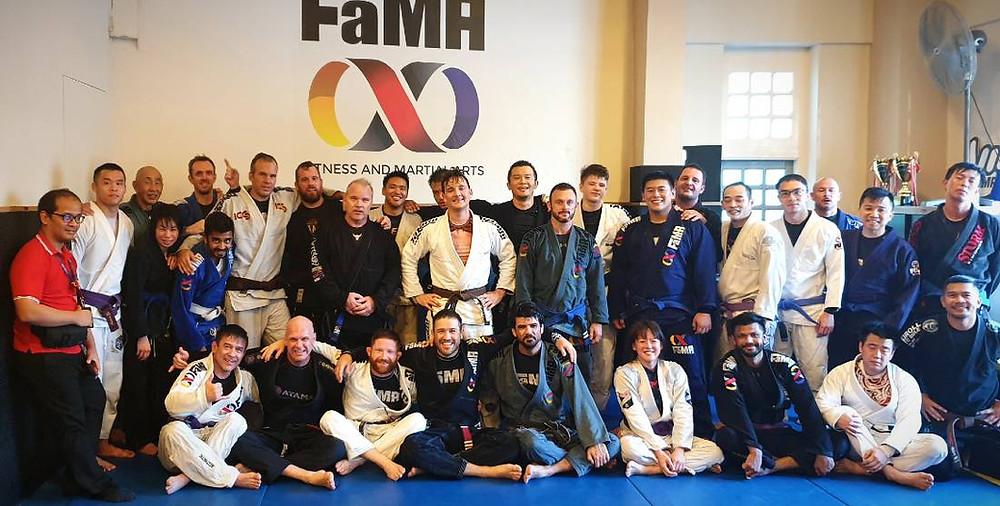 fama singapore brazilian jiu jitsu morning porrada group picture