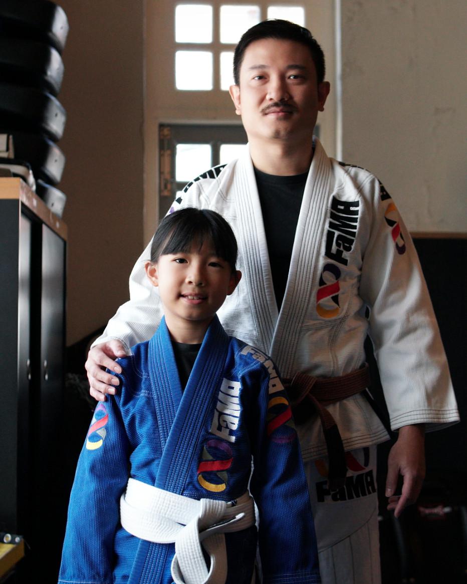 fama singapore brazilian jiu jitsu bjj father and daughter