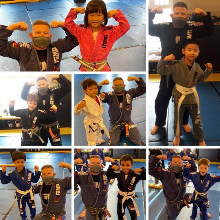 fama singapore kids martial arts brazilian jiu jitsu bjj stripes with professor robyn