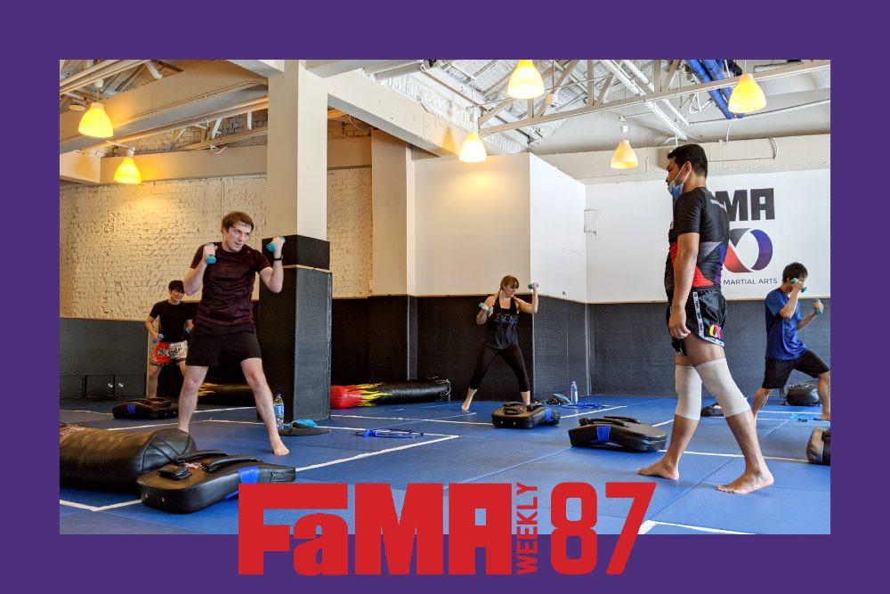 fama weekly 87 cover kru yo modified muay thai class