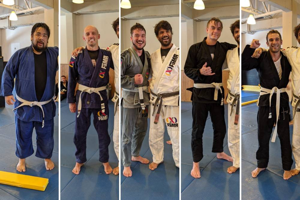 fama singapore bjj brazilian jiu jitsu stripes promotion