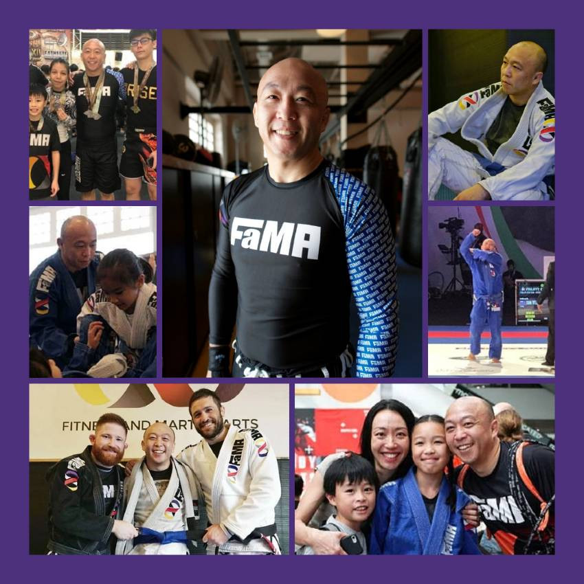 fama singapore kids bjj brazilian jiu jitsu assistant instructor tim