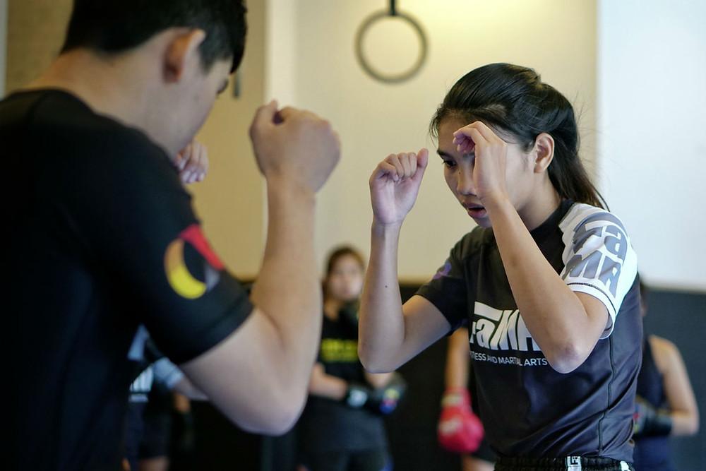 fama singapore muay thai kickboxing thaiboxing seminar kru fah