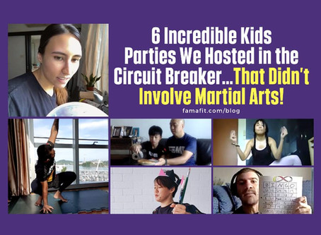 6 Incredible Kids Parties We Hosted in the Circuit Breaker…That Didn't Involve Martial Arts!