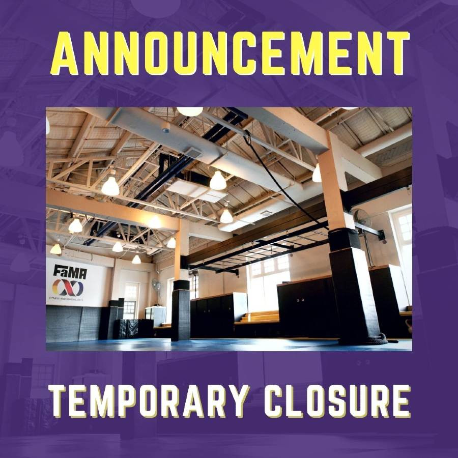 fama singapore temporary closure announcement for may 2021