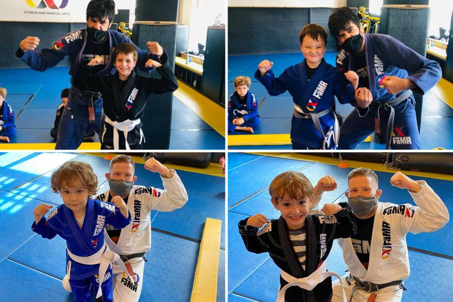 fama singapore brazilian jiu jitsu kids bjj belt promotion