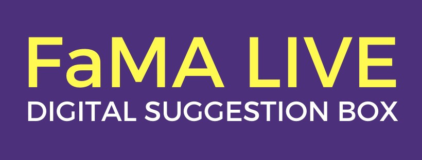fama singapore live digital suggestion box banner