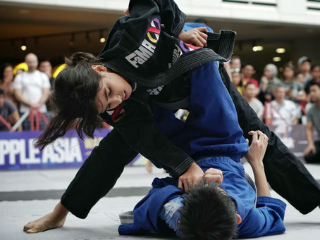 FaMA BJJ Kids Compete In Little Warriors Roll-A-Thon