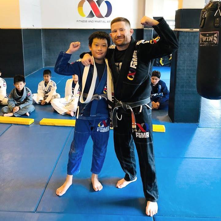 fama singapore kids bjj brazilian jiu jitsu belt promotion