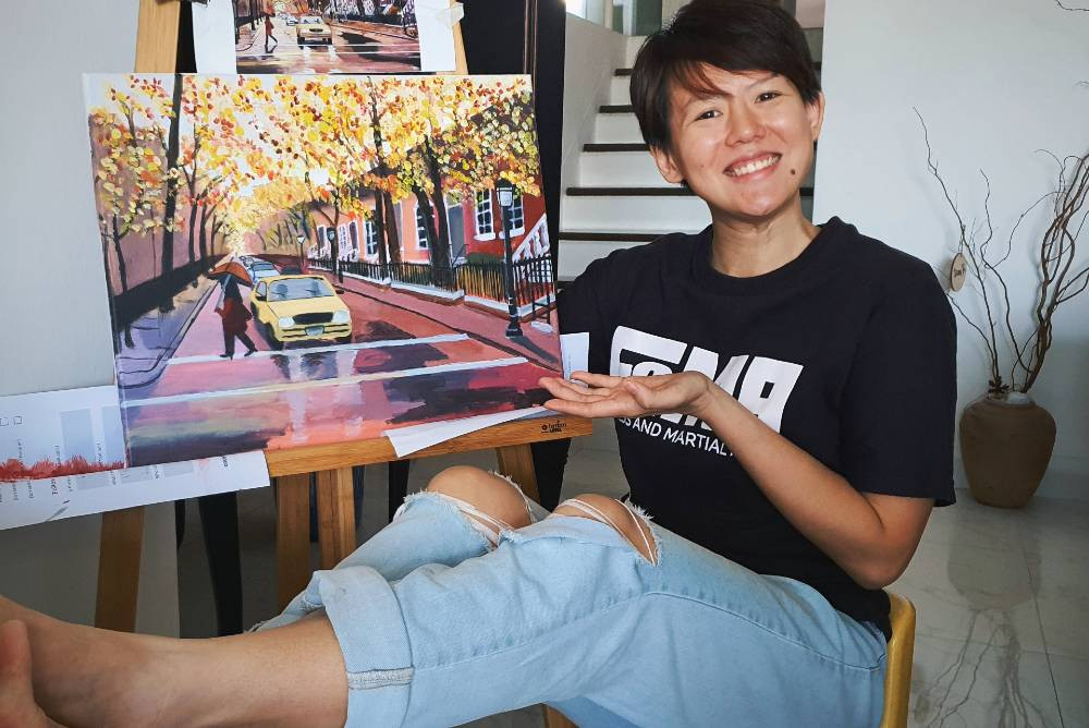 fama singapore circuit breaker assistant instructor sue-ann painting