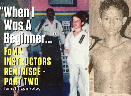 """""""When I Was A Beginner…"""" : FaMA - Fitness and Martial Arts Instructors Reminisce - Part Two"""