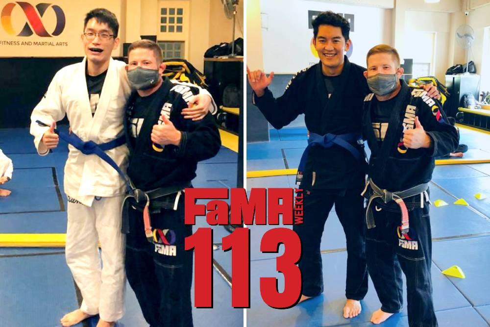 fama weekly singapore brazilian jiu jitsu bjj belt promotions