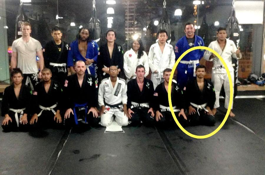 fama singapore assistant instructor nevash white belt malaysia