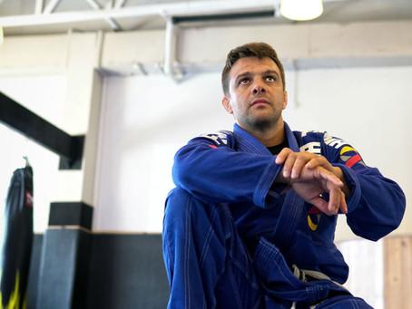 Brazilian Jiu-Jitsu World Champion Robson Moura at FaMA - Fitness and Martial Arts