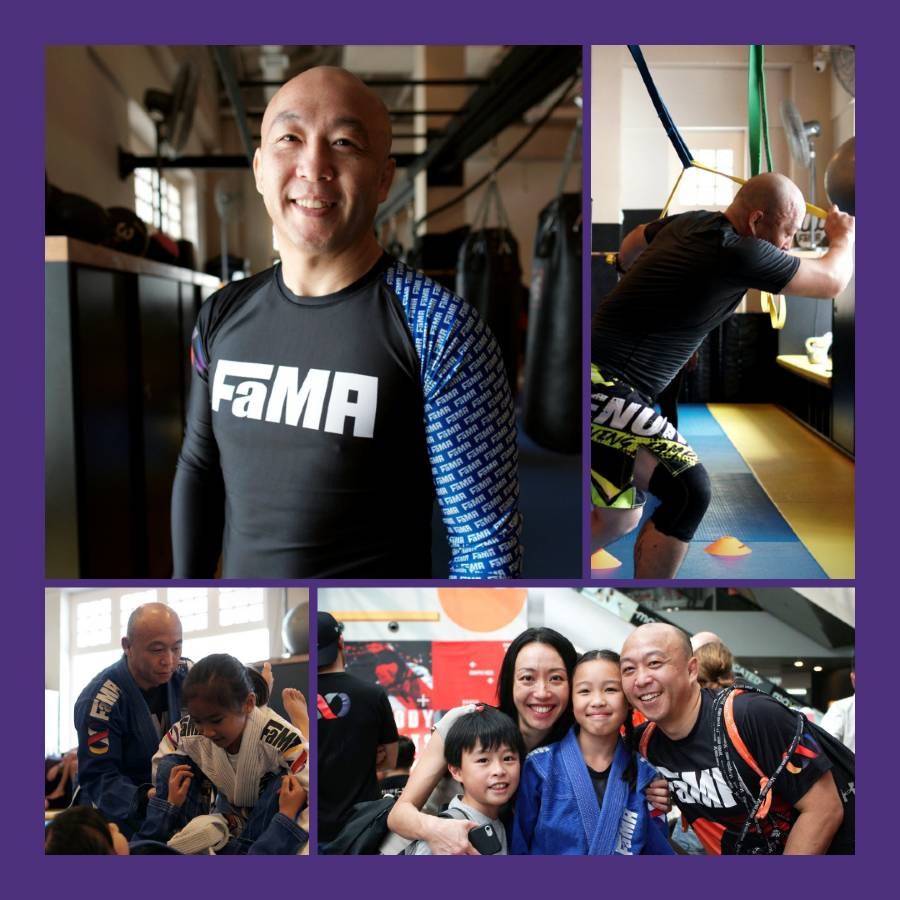 fama singapore kids brazilian jiu jitsu bjj assistant instructor tim