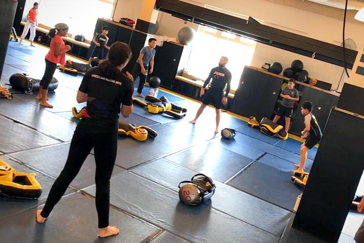 fama singapore kids martial arts bjj brazilian jiu jitsu with professor robyn goudy
