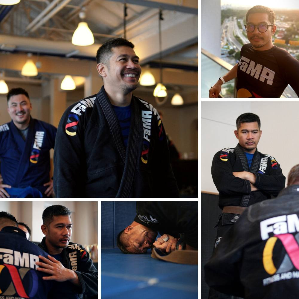 fama singapore bjj assistant instructor ronny collage