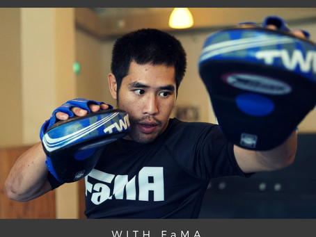 THE PRINCIPLES OF MUAY THAI with FaMA Guest Instructor Kru Mike Siwa Konthieng