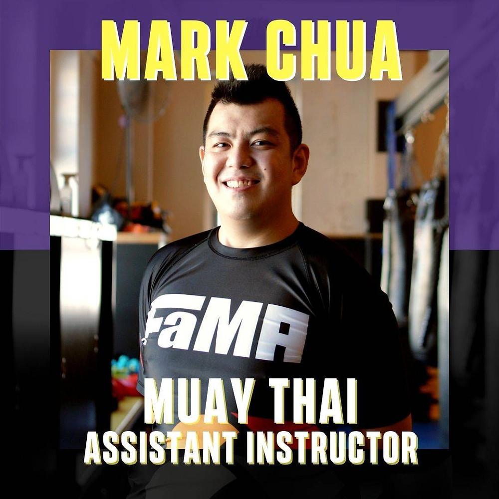 fama singapore muay thai assistant instructor mark chua