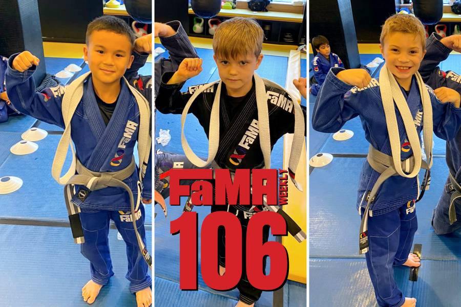 fama weekly 106 singapore kids martial arts