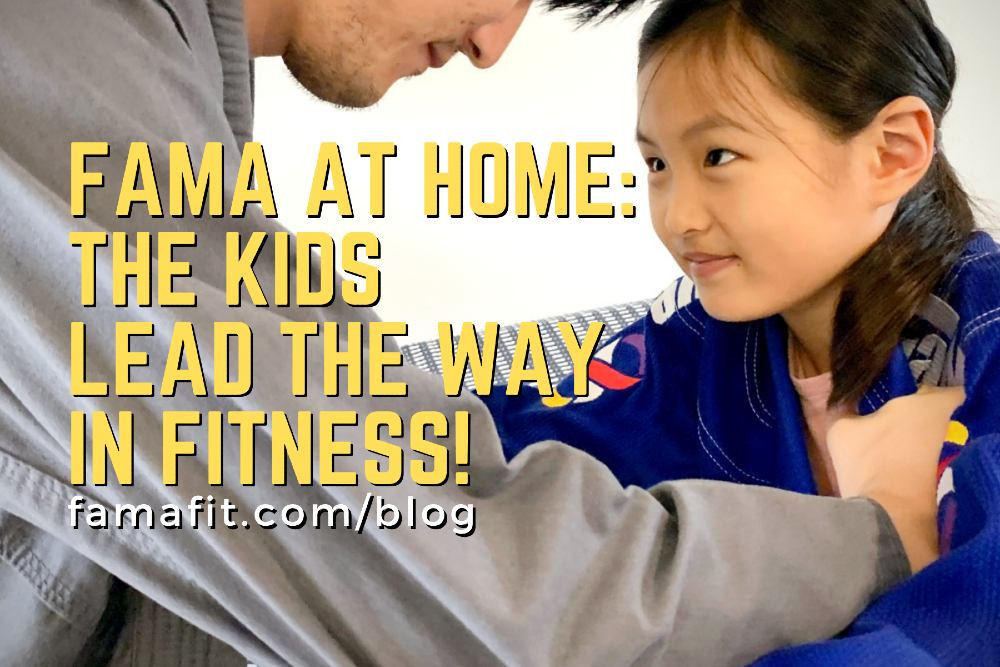 fama singapore kids martial arts workout at home