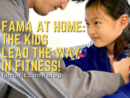 FaMA at Home: The Kids Lead the Way in Fitness!