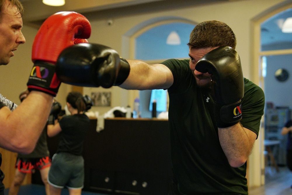 fama singapore muay thai gloves punch