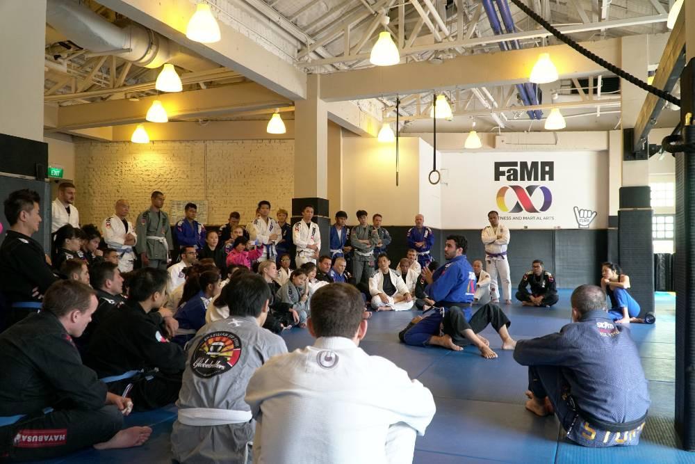 fama singapore brazilian jiu jitsu bjj seminar with rodrigo teixeira