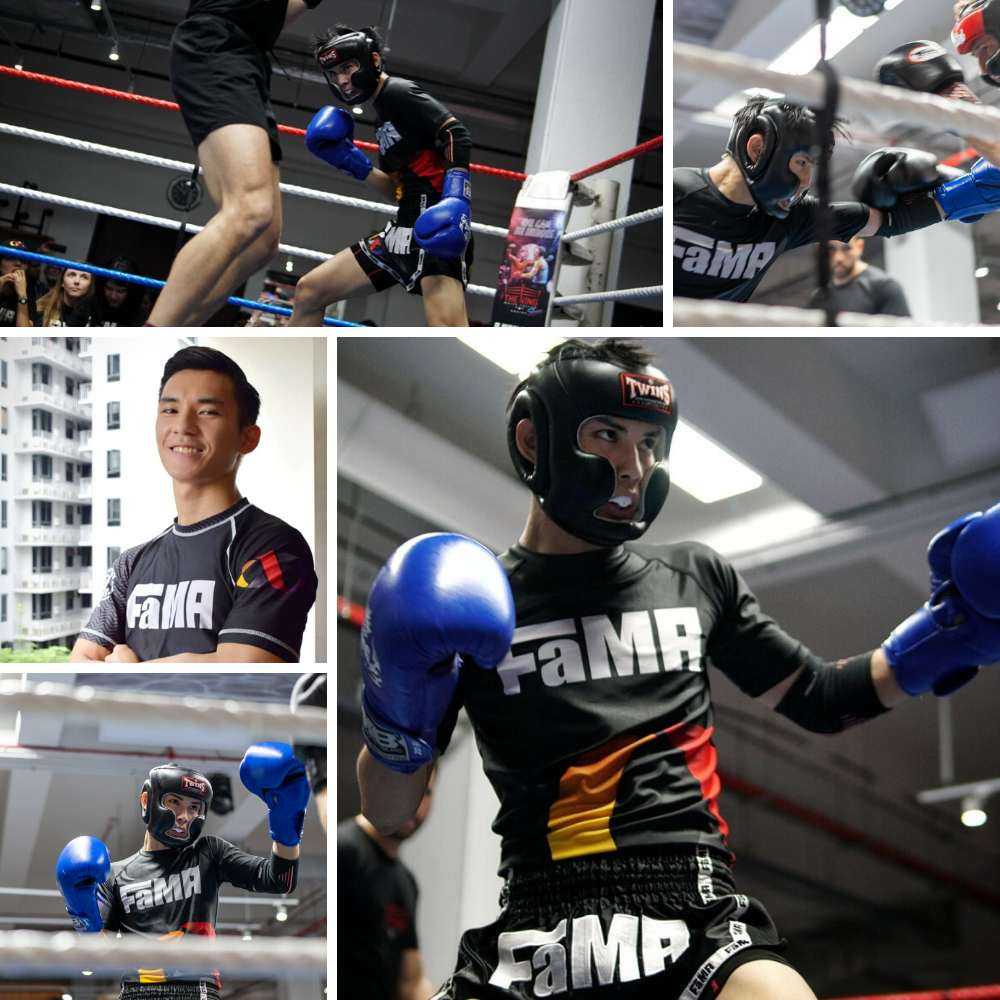 fama singapore muay thai assistant instructor jerome collage