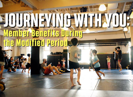 Journeying with You: Member Benefits During the Modified Period